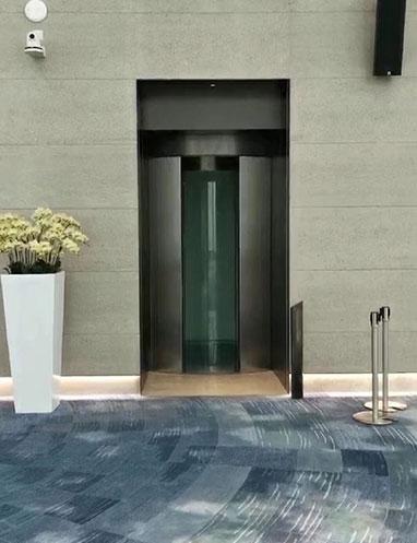 360° Round Panoramic Elevator